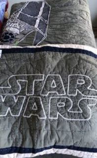 Pottery Barn Kids Star Wars bedding