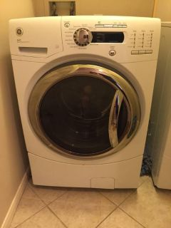 GE front load washer dryer