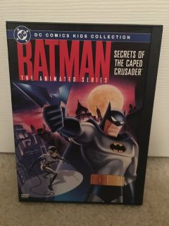 Batman The Animated Series-Secrets of The Caped Crusader dvd
