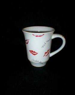 Sexy Advertising Collectible Mary K  Coffee Mug - Lipstick Kisses - Only displayed