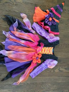 Adorable witch costume size 3-4 - children's place