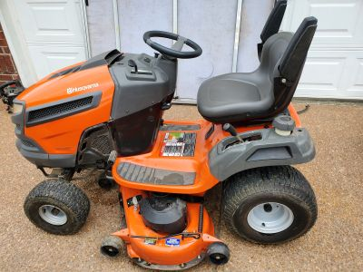 Husqvarna Like New Riding Mower with attachments