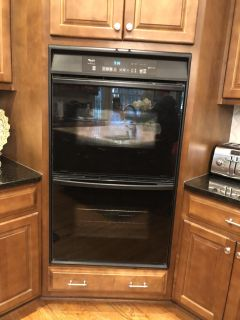 Whirlpool Double Oven & Refrigerator