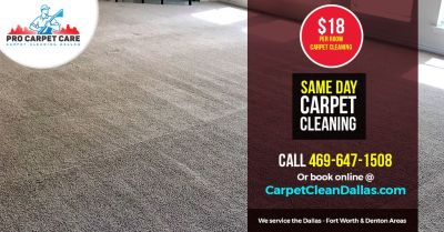 ✔️ $18 Per Room Carpet Cleaning ✔️