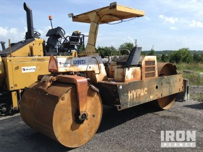 Hypac C350D Double Drum Roller