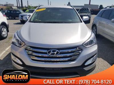 2014 Hyundai Santa Fe Sport 2.0T (Moonstone Silver)