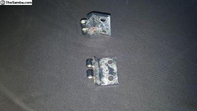 cargo door hinge's (chrome pair )