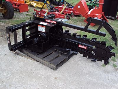 Hydraulic Trencher for a skid steer NEW