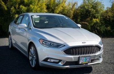 2017 Ford Fusion Titanium (Ingot Silver)