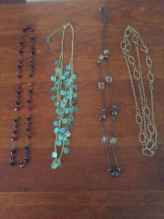 Assorted necklaces-$3 each or all for $10