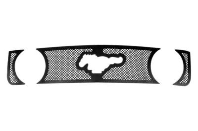Purchase Paramount 47-0157 - Ford Mustang Restyling Perimeter Wire Mesh Grille 3 Pcs motorcycle in Ontario, California, US, for US $90.00