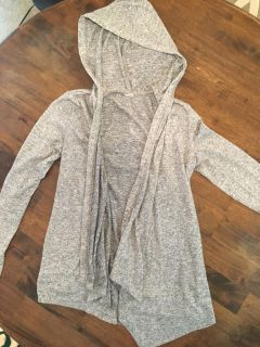 Comfortable Light Weight Hooded Cardigan