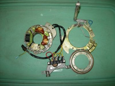 Find JOHNSON EVINRUDE 20 25 30 35 HP IGNITION CHARGING KIT STATOR ARMATURE PLATE CDI motorcycle in Stacy, Minnesota, United States, for US $139.00