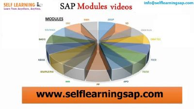 Learn Any SAP Courses Video's Available in SELF LEARNING SAP Center.