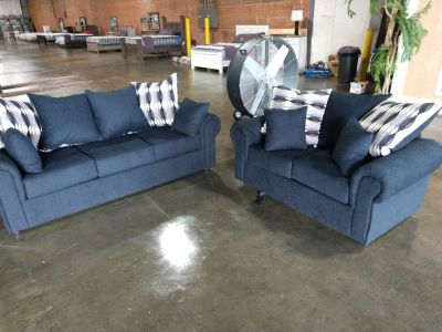 New sofa and loveseat, truckload sale