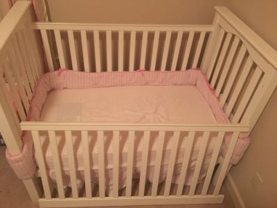 Pottery Barn Kendall Crib and Sealy Mattress