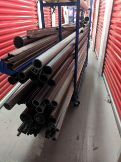 Different sizes PVC pipe