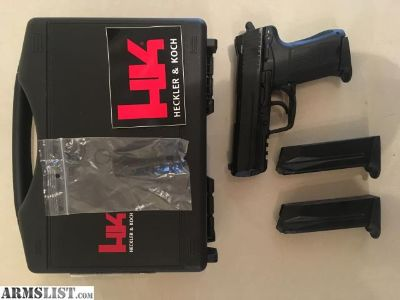 For Sale: HK 45c brand new 3 mags
