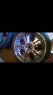 24 rims and tires