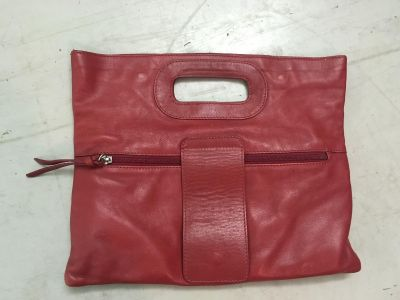 Cute red leather women's purse, really cute