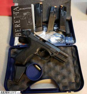 For Sale: Beretta Px4 Storm .40 caliber