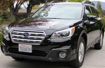2016 Subaru Outback 2.5i Premium, Black, 30k Miles