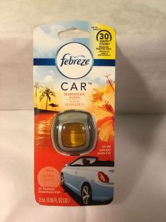 Febreze Hawaiian aloha car vent air freshener clips