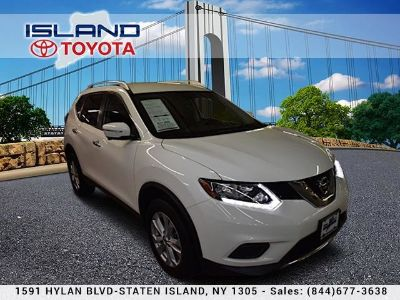 2015 Nissan Rogue AWD 4dr SV (Pearl White)