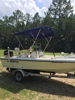 2003 Sea fox 16 feet with trailer and 60 hp mercury