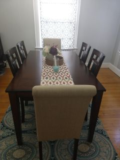 Dinning table plus chairs