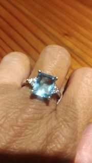 SIZE 8 SILVER 925 BOUGHT TOO BIG ABSOLUTELY BEAUTIFUL