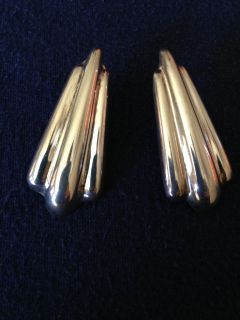 """Sterling Silver Earrings"" Beautiful South West/Art Deco/Free Shipping C-US"