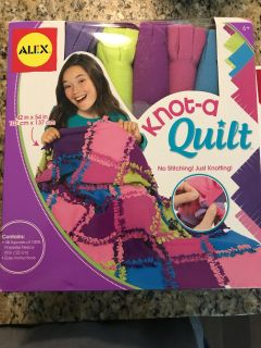 Brand new Knot a quilt kit