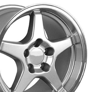 Find Single 17 x 11 Silver ZR1 Wheel Fits Corvette motorcycle in Sarasota, Florida, US, for US $139.30