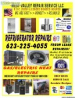 Refrigerator leaking water need a hst R.O.C. licensedand bond