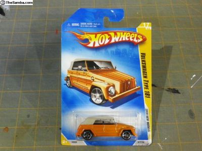 2009 Thing HotWheels Orange 17/42