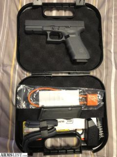 For Sale: Brand New Glock 17 Gen4 9mm All Grey Color