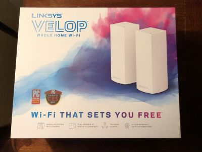 Linksys Velop Wireless Router 2 pack
