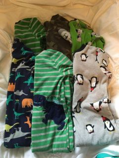 Lot of 3T Carters sleepers $10