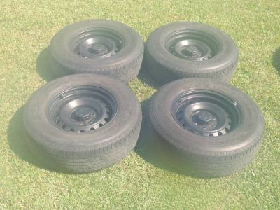 4 ea. 17 Toyota FJ Wheels and Tires