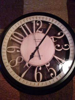 Large Main Street Station clock 22inches