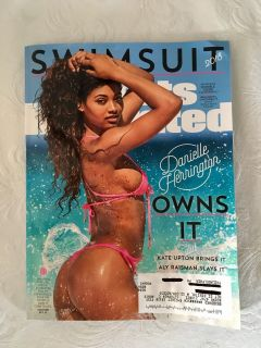 New 2018 Sports Illustrated Swimsuit Double Issue. Danielle Herrington Cover Issue