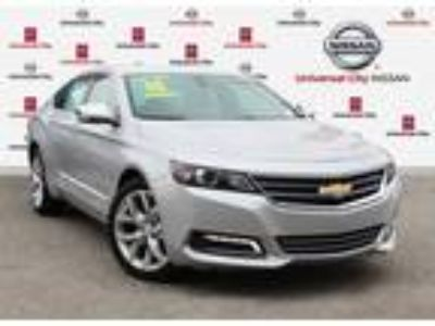 Used 2018 Chevrolet Impala Silver Ice Metallic, 35.4K miles