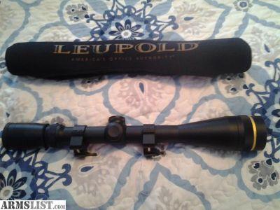 For Trade: Leupold VX3 6.5-20x40mm AO