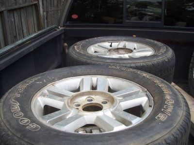 B F Goodrich tires needed (Ball, LA.)