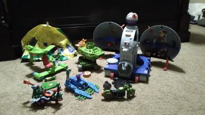 HUGE Vintage Teenage Mutant Ninja Turtles lot