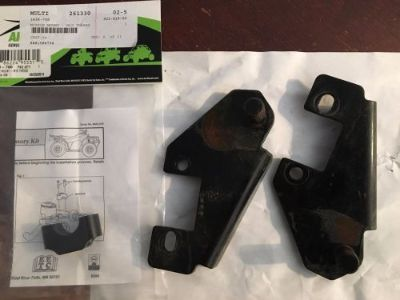 Purchase Arctic Cat Snow Plow Mount Brackets Full Size 0436-635, mirror mount 1436-700 motorcycle in Germantown, Wisconsin, United States, for US $48.95