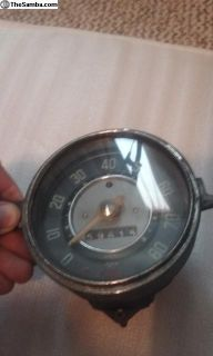 Unrestored 4-55 Speedo