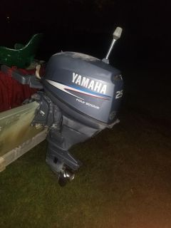 25 hp yamaha forsale or trade