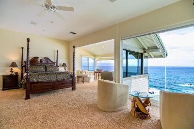 Kapalua Bay Villa Gold 180* Endless Ocean Views! Direct Beach Front Location!